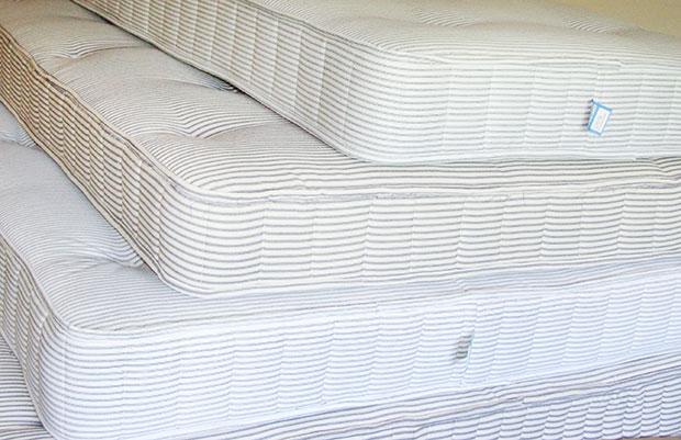 Handmade coil mattresses